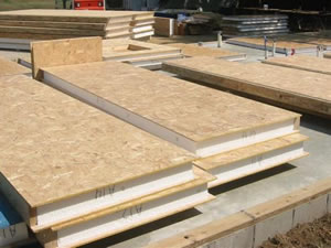 Panels are then delivered to site in either modular panels or even as a whole side